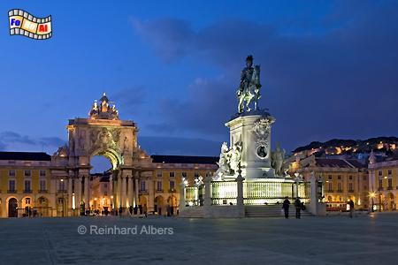 Praça do Comércio, Lissabon, Praça, Comércio, Platz, Albers, Foto, foreal