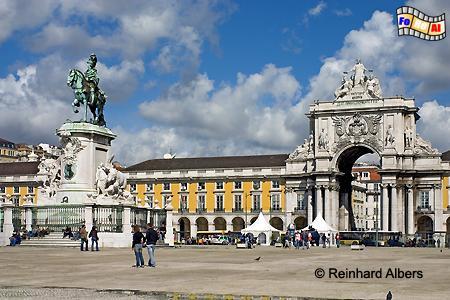Praça do Comércio , Portugal, Lissabon, Praça, Comércio, Paço, Albers, foreal, Foto