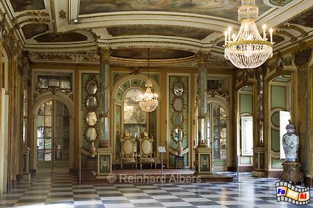 Schloss Queluz - Botschaftersaal, Portugal, Lissabon, Queluz, Schloss, Botschafter, Saal, Albers, Foto, foreal