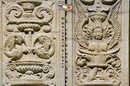 Jeronimokloster - Verzierungen im Kreuzgang, Lissabon, Belem, Kloster, Jeronimo, Kreuzgang, Maunelismus, Albers, foreal, Foto