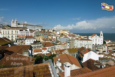Lissabon - Altstadt (Alfama), Lissabon, Altstadt, Alfama, Tejo, Albers, foreal, Foto