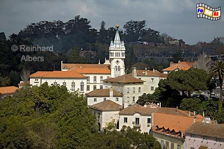 Sintra - Villen im Ortskern, Sintra, Villen, Albers, Foto, foreal