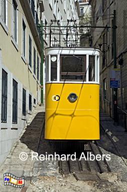 Elevador da Lavra, Lissabon, Elevador, Lavra, Bergbahn, Albers, Foto, foreal