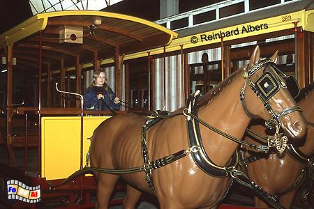 1873 verkehrte die erste Pferdestraßenbahn in Lissabon, heute zu sehen im Straßenbahnmuseum (Museu de Carris)., Lissabon, Straßenbahn, Museum, Museu de Carris
