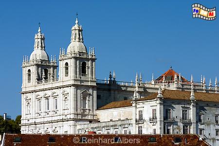 Lissabon - Kirche São Vicente de Fora, Lissabon, Vinzenz, Vicente, Kirche, Schutzpatron