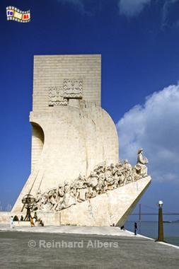 Denkmal der Entdeckungen (Padrão dos Descobrimentos), Lissabon, Belém, Denkmal, Entdeckungen, Albers, Foto, foreal, Descobrimentos, Padrão,
