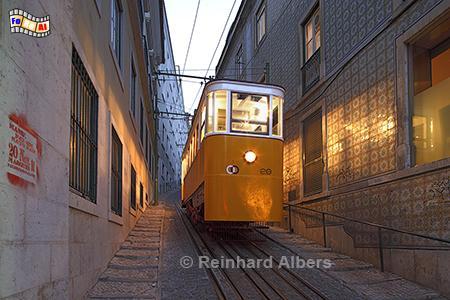 Elevador da Lavra, Lissabon, Elevador, Fahrstuhl, Bergbahn, Lavra, Albers, foreal,