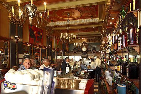 Jugendstilcafé 'A Brasileira', Portugal, Lissabon, Brasileira, Café, Chiado, Albers, foreal,