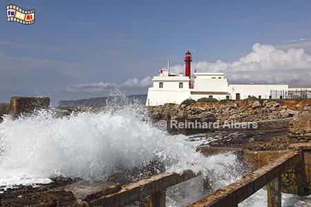 Cabo Raso, Leuchtturm westlich von Lissabon., Portugal, Leuchtturm, Atlantik, Cabo, Raso, Festung, Albers, Foto, foreal,