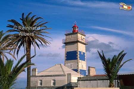 Cascais Leuchtturm Santa Marta, Portugal, Cascais, Leuchtturm, Farol, Albers, Foto