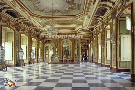 Schloss Queluz - Botschaftersaal, Portugal, Lissabon, Queluz, Schloss, Botschafter, Saal, Albers, Foto, foreal,