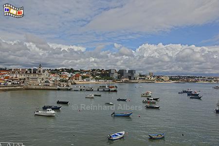 Hafen von Cascais, Portugal, Küste, Cascais, Hafen, Albers, Foto, foreal,