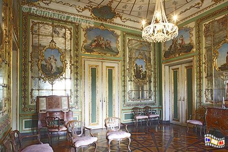 Schloss Queluz - Residenz der portuguiesischen Könige., Lissabon, Queluz, Schloss, König, Albers, Foto, foreal,
