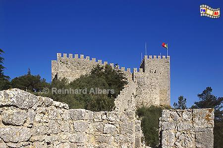 Festung oberhalb von Sesimbra, Portugal, Sesimbra, Festung, Cavalo, Foto, Albers, foreal,