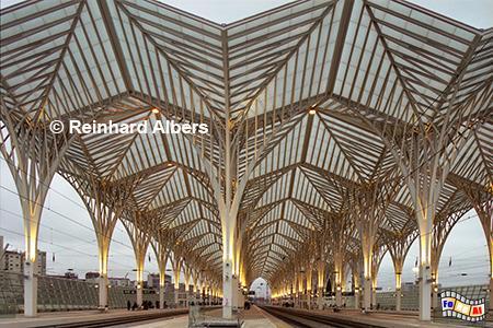 Estação Oriente, futuristischer Bahnhof für dei Expo 1998., Lissabon, Lisboa, Expo, Bahnhof, Estação, Oriente, Architektur