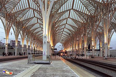 Expro Bahnhof, Lissabon, Lisboa, Expo, Bahnhof, Estação, Oriente, Architektur