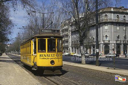 Straßenbahn - Linie 15,