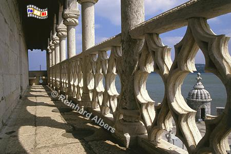 Torre Be Belem, Lissabon, Belém, Torre, Turm, Manuelismus, Albers, Foto, foreal