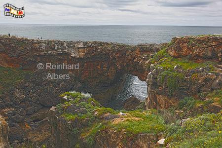 Boca do Inferno bei Cascais, Portugal, Cascais, Boca, Inferno, Albers, Foto, foreal, Atlantik,