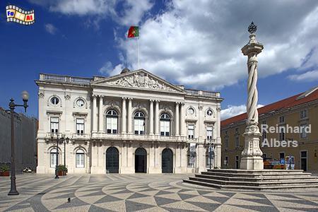 Rathaus - Paços do Concelho auch Câmara Municipal genannt, Lissabon, Rathaus, Câmara, Paços, Municipal