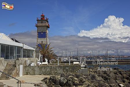 Cascais Leuchtturm Santa Marta, Portugal, Cascais, Leuchtturm, Santa, Marta, Farol, Albers, Foto, foreal,