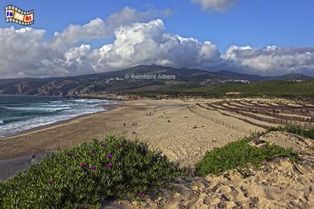 Guincho, legendärer Surfstrand westlich vom Lissabon, Portugal, Lissabon, Atlantik, Guincho, Strand, Surfer, Kiter, Foto, Albers, foreal,,