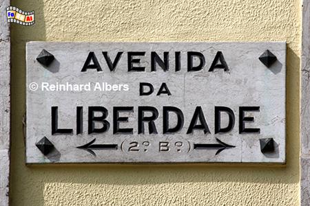 Avenida da Liberdade - Prachtboulevard, Lissabon, Avenida, Liberdade, Boulevard, Albers, Foto, foreal,