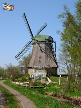 Reppel im Kreis Schleswig-Flensburg. Die Mühle