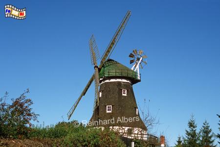 Die Grevesmühlener Mühle von 1878 ist nach ihren Standort benannt, Windmühle, Mecklenburg-Vorpommern, Grevesmühlen