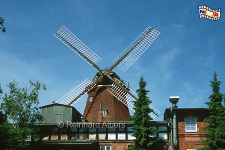Lauenburg an der Elbe, Windmühle, Schleswig-Holstein, Lauenburg