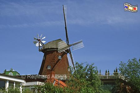 Lauenburg an der Elbe, Windmühle, Schleswig-Holstein, Lauenburg, Elbe