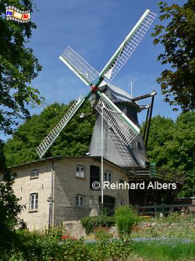 Flensburg - Bergmühle von 1792., Windmühle, Flensburg, Galerieholländer, Bergmühle