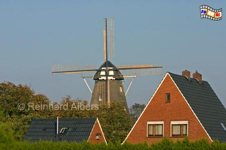 Hinte - Landkreis Aurich, Mühle von 1869., Windmühle, Hinte, Aurich
