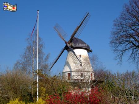 Nybøl im südlichen Dänemark (1880), Windmühle, Dänemark, Nybøl