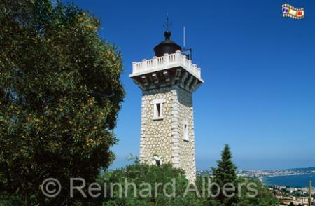 Feu de Vallauris an der Côte d Azur., Leuchtturm, Frankreich, Provence, Vallauris