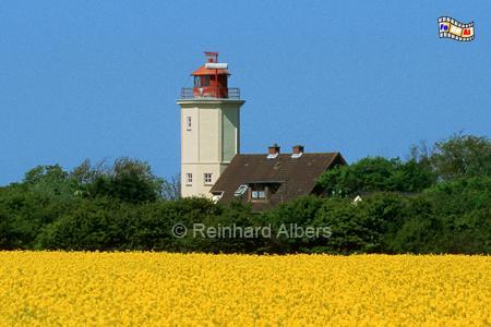 Westermarkelsdorf auf der Insel Fehmarn, Leuchtturm, Schleswig-Holstein, Fehmarn, Westermarkelsdorf