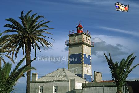 Cascais westlich von Lissabon, Leuchtturm, Portugal, Cascais