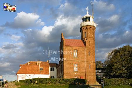 Ustka (früher Stolpmünde) in Polen, Leuchtturm, Polen, Pommern, Ustka, Stolpmünde