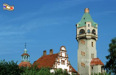 Sopot (Zoppot). Der ehemalige Leuchtturm stammt aus dem Jahr 1907., Leuchtturm, Lighthouse, Phare, Latarnia, Morska, Polen, Ostseeküste, Foto, Albers, foreal, Sopot, Zoppot,