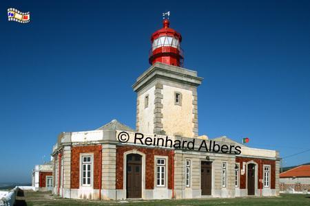 Cabo da Roca - westlichster Punkt des europäischen Festlandes., Leuchtturm, Portugal, Cabo da Roca, Farol, Albers, foreal, Foto,