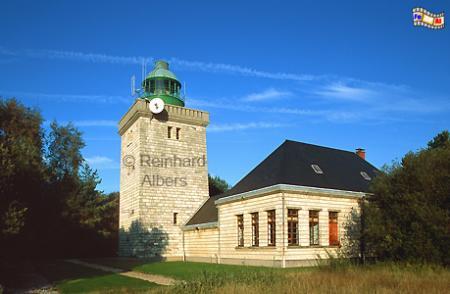 Ailly in der Normandie, Leuchtturm, Frankreich, Normandie, Ailly
