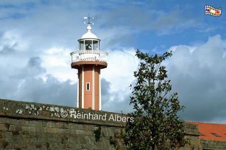 Viana do Castelo verfügt über zwei Leuchttürme, wovon einer in einer historischen Burganlage steht., Leuchtturm, Portugal, Viana do Castelo