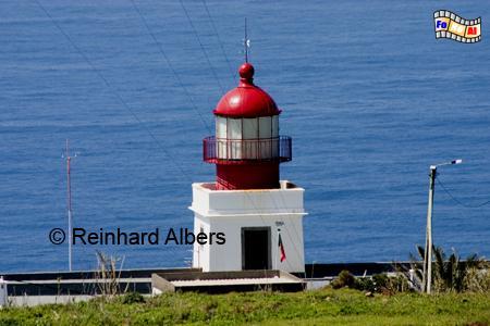 Ponta do Pargo auf der Insel Madeira (Portugal), Leuchtturm, Portugal, Madeira, Ponta do Pargo