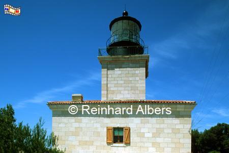 Cap d Arme, Île de Porquerolles, Mittelmeer, Frankreich, Leuchtturm, Frankreich, Provence, Cap d Arme