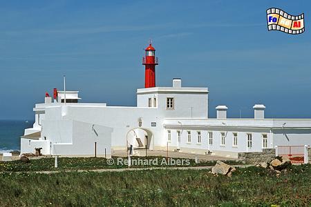 Cabo Raso Portugal, Leuchtturm, Portugal, Cabo Raso, Albers, foreal, Foto, Farol,