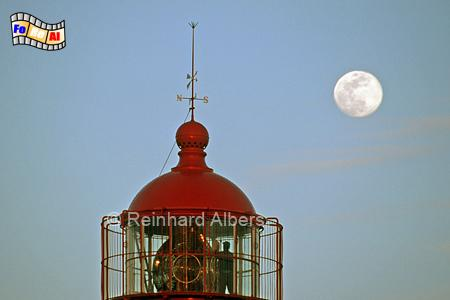 Algarve - Leuchtturm Alfanzina bei Carvoeiro, Leuchtturm, Portugal, Algarve, Carvoeiro, Alfanzina, Mond, Laterne, Albers, foreal, Foto,