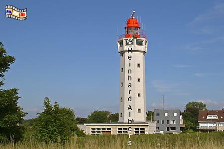 Cap de la Hève bei Le Havre in der Normandie, Leuchtturm, Frankreich, Normandie, Le Havre, Cap de La Hève
