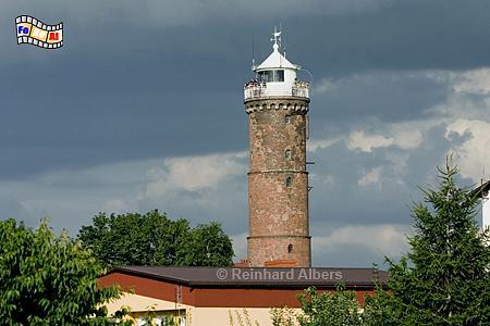 Jarosławiec (Jershöft) an der polnischen Ostseeküste., Leuchtturm, Polen, Pommern, Jaroslawie, Jershöft