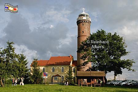 Jarosławiec (Jershöft) an der polnischen Ostseeküste., Leuchtturm, Polen, Pommern, Jaroslawiec