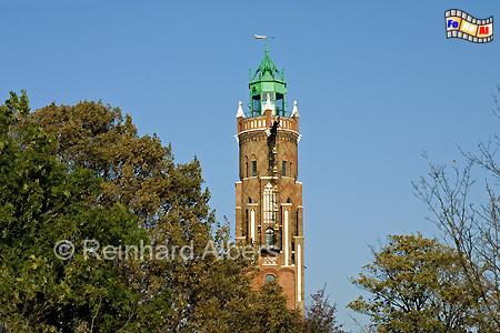 Bremerhaven, Loschenturm, Leuchtturm, Deutschland, Niedersachsen, Bremerhaven, Oberfeuer, Loschenturm